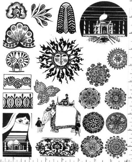 East Indian Patterns http://www.jimstephan.org/13-EastIndian.html